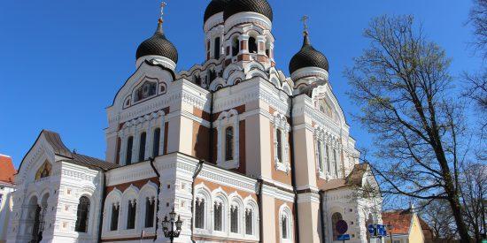 Catedral de Alexander Nevski en Tallin Estonia