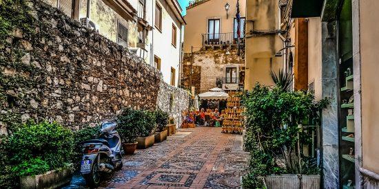 Tour para crucero por las calles de Taormina