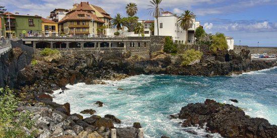 Pueblo costero Tenerife