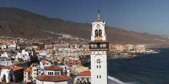Pueblo costero en Tenerife