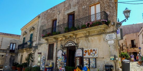 Peculiares casas en Trapani Sicilia