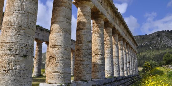Gran Templo de Segesta en Trapani