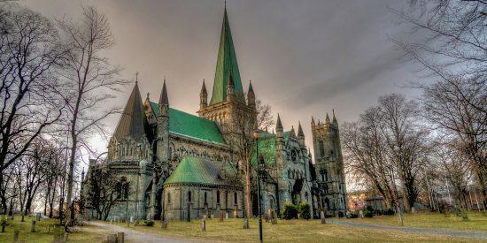Catedral de Nidaros en Trondheim Noruega