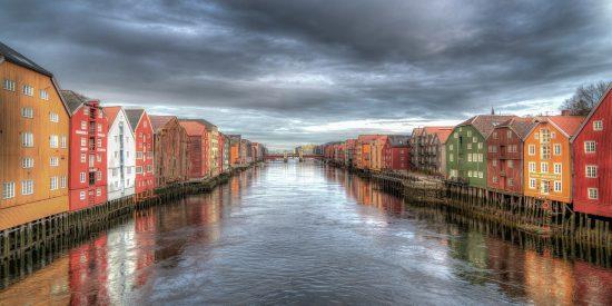 Visita guiada por Trondheim Noruega