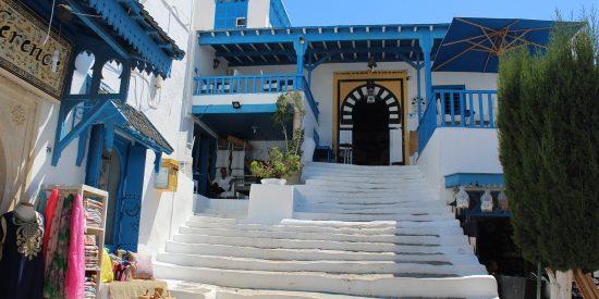 Artesanía local en Túnez
