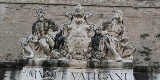 Entrada del museo Vaticano