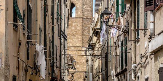 Las calles de Alghero Cerdeña