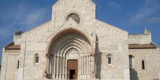 Fachada catedral Ancona Italia