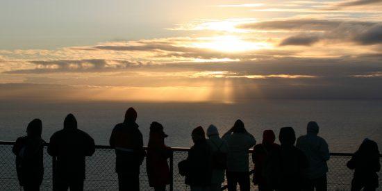 Excursión desde el crucero al cabo Norte en Noruega