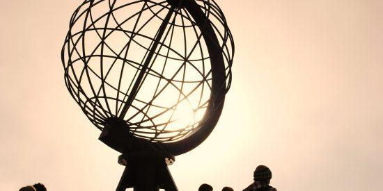 Monumento Cabo Norte Noruega
