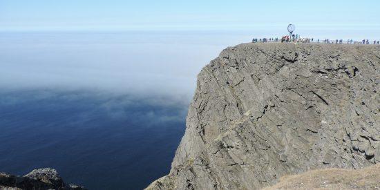 Excursión al cabo norte en Noruega