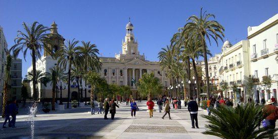Plazas y lugares históricos Cadiz