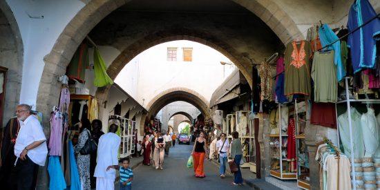 Paseo por el Bazar de Casablanca