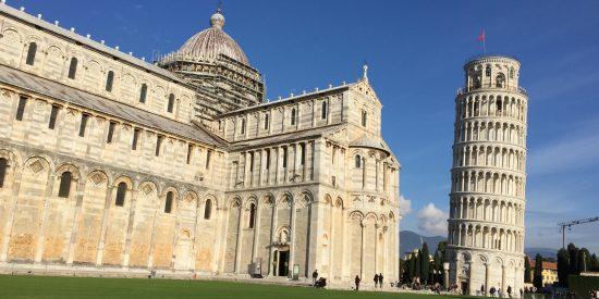 La torre de Pisa en Florencia