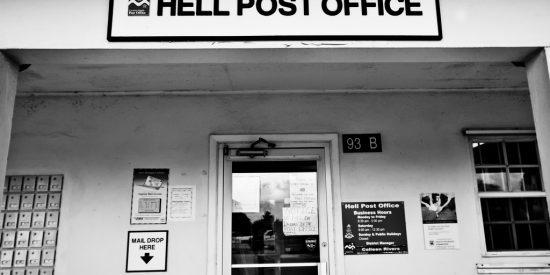 La oficina de correos de George Town