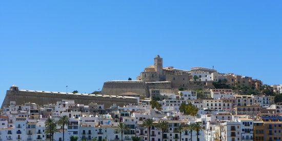 Vistas a la Catedral de Santa María Ibiza
