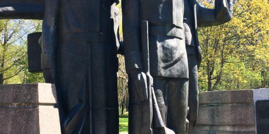 Esculturas en Klaipeda Lituania