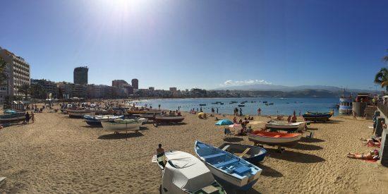 Playas en Las Palmas de Gran Canaria