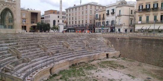 Anfiteatro Romano de Lecce Italia Una joya escondida Lecce