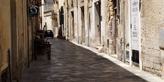 Calles de Lecce Excursión para crucero Italia