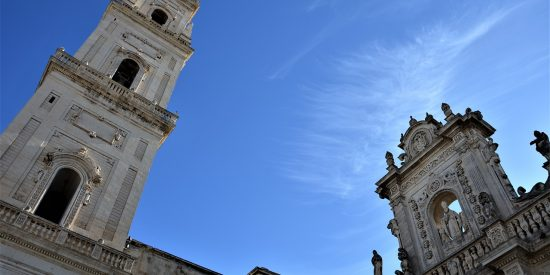 Torre de la catedral de Lecce Italia