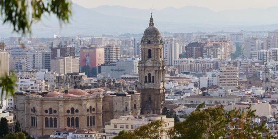 Vistas Catedral Málaga
