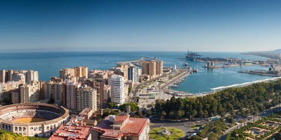 Vista Panorámica Málaga