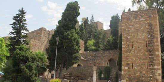 Alcazaba palacio musulman Malaga
