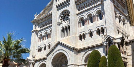 Hermosa Catedral de Mónaco