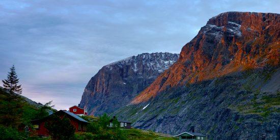 Atardecer en Andalsnes Noruega