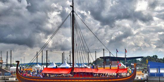 drakKar Barco Vikingo Haugesund Noruega