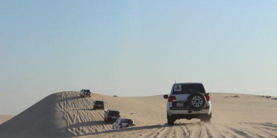 Las dunas en Qatar