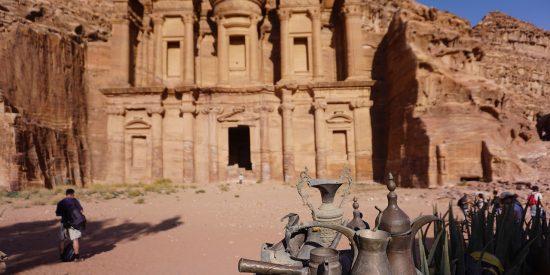 Bonita foto de Petra en Jordania