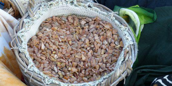 Tradición cesto Árabe Salalah Oman
