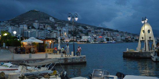 Butrinto de noche en Albania visita