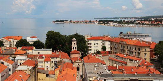 Zadar en Croacia