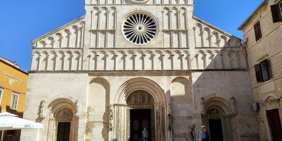 La Catedral de Zadar en Croacia