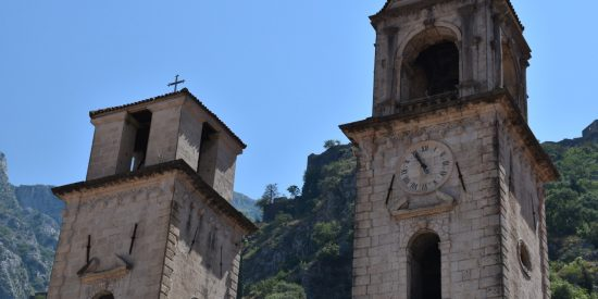 La catedral de Kotor Montenegro
