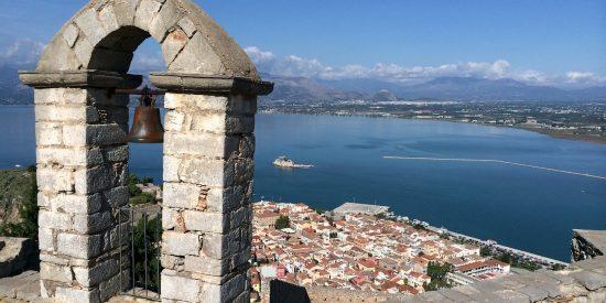 Fortaleza de Palamidi en Grecia