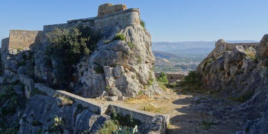 Restos de Micenas en Grecia