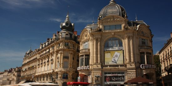 La plaza de La Comedia Edificios Montpellier
