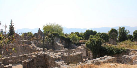 Stari Bar ruinas en Montenegro