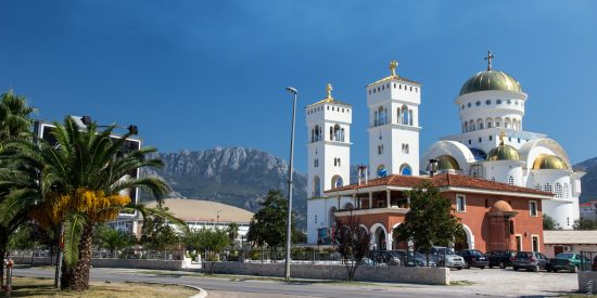 Templo Ortodoxo de San Jovan Vladimir Bar Montenegro