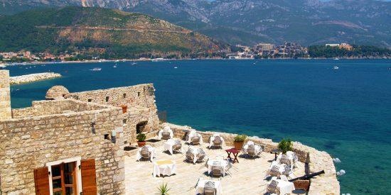 Paisaje espectacular en Bar Montenegro