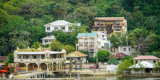 Lugares de la costa de Roatan