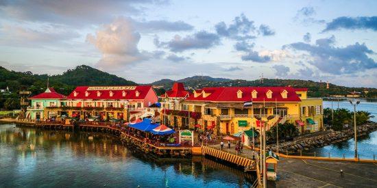 Isla caribeña Honduras Roatan Excursión para cruceros