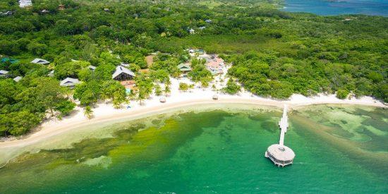 Excursión para cruceros por el Caribe en Honduras Roatan Mar del Caribe