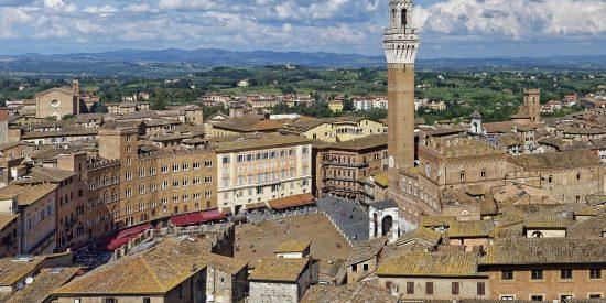 Siena El mirador del Panorama de Facciatone