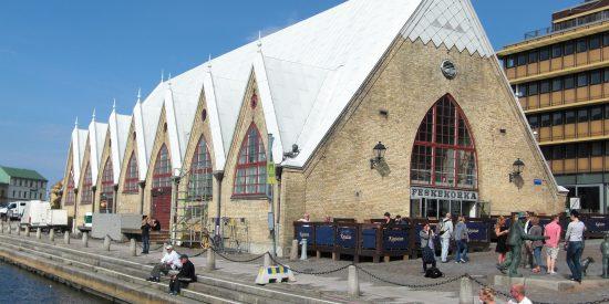 Mercado de Pescado de Gotemburgo Suecia