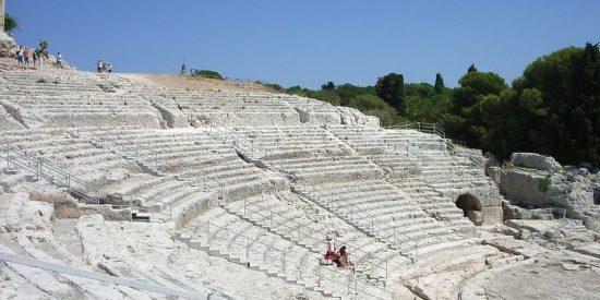 El Parque Arqueológico de Neapolis, en Siracusa
